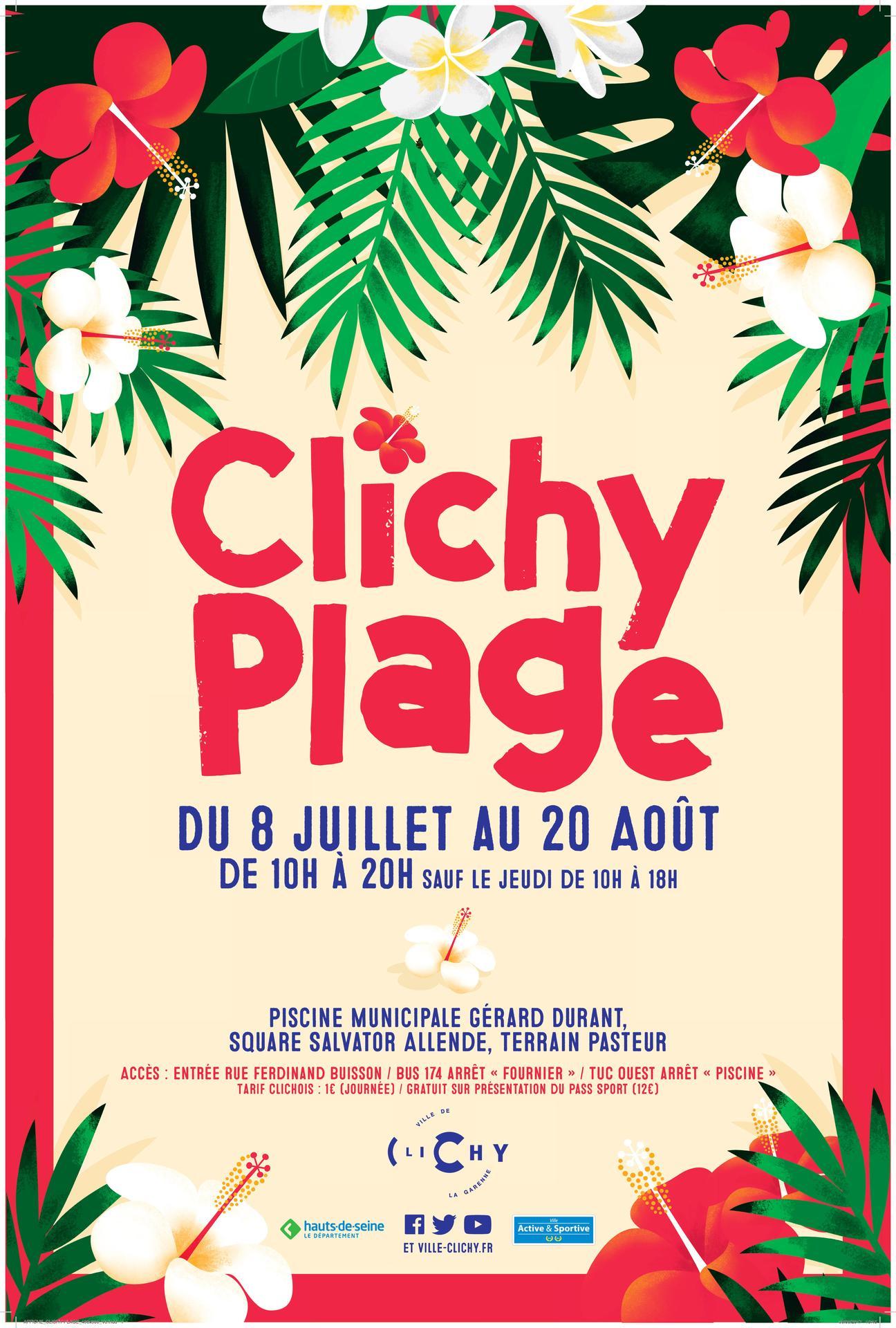Clichy Plage 2017